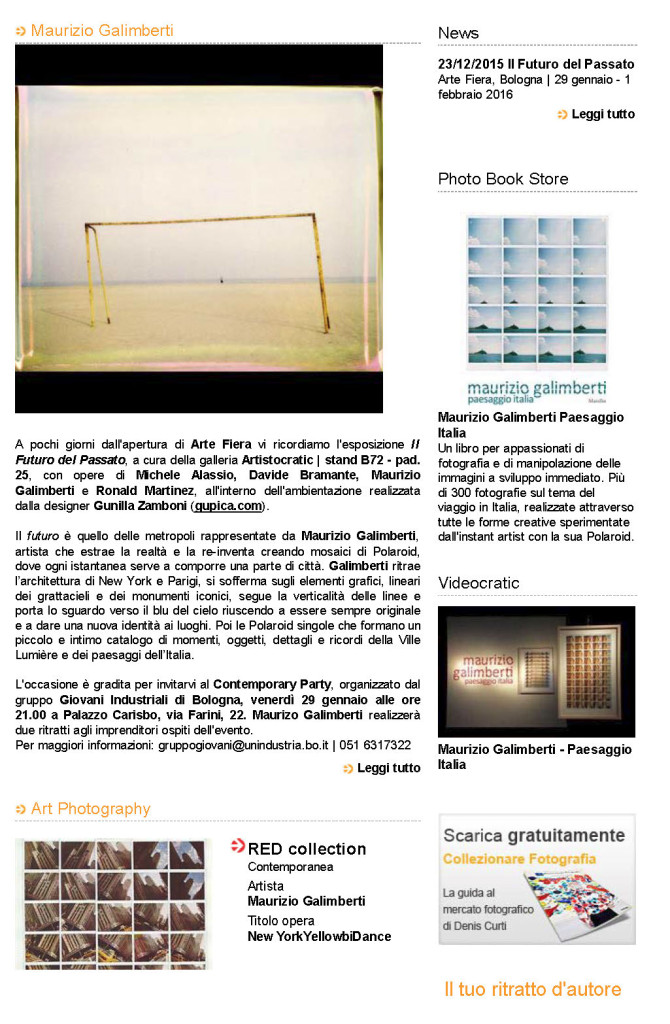 Maurizio+Galimberti+_+Arte+Fiera+Bologna+_++Pad.+25+-+B72_Pagina_2